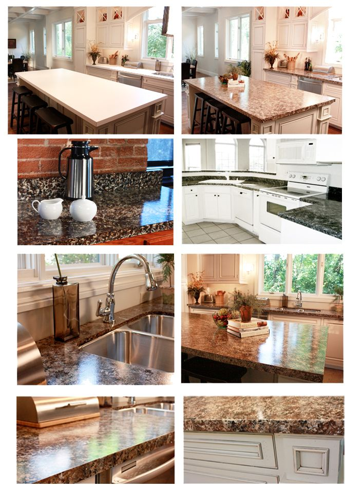 Faux Finish Granite Countertops in 8 Easy Steps | gute Ideen, Küche ...