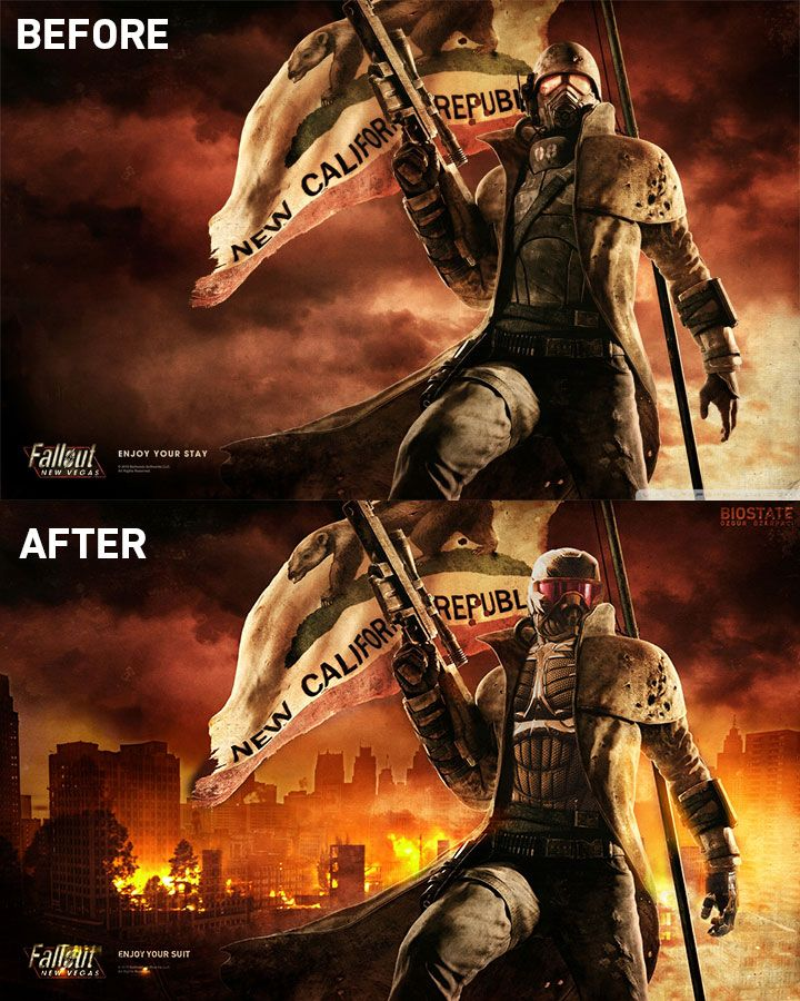 Fallout New Vegas Hd Desktop Wallpaper Fullscreen Mobile Hd