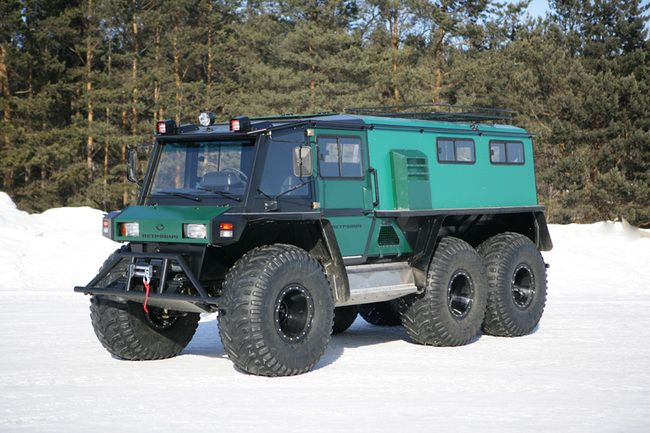 Automobile Plant EkotransPetrovich All terrain vehicles and off