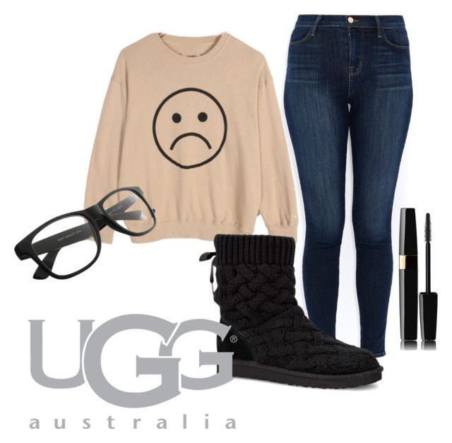 """""""Boot Remix with UGG : Contest Entry"""" by arianagrande1230 ❤ liked on Polyvore featuring J Brand and UGG Australia"""