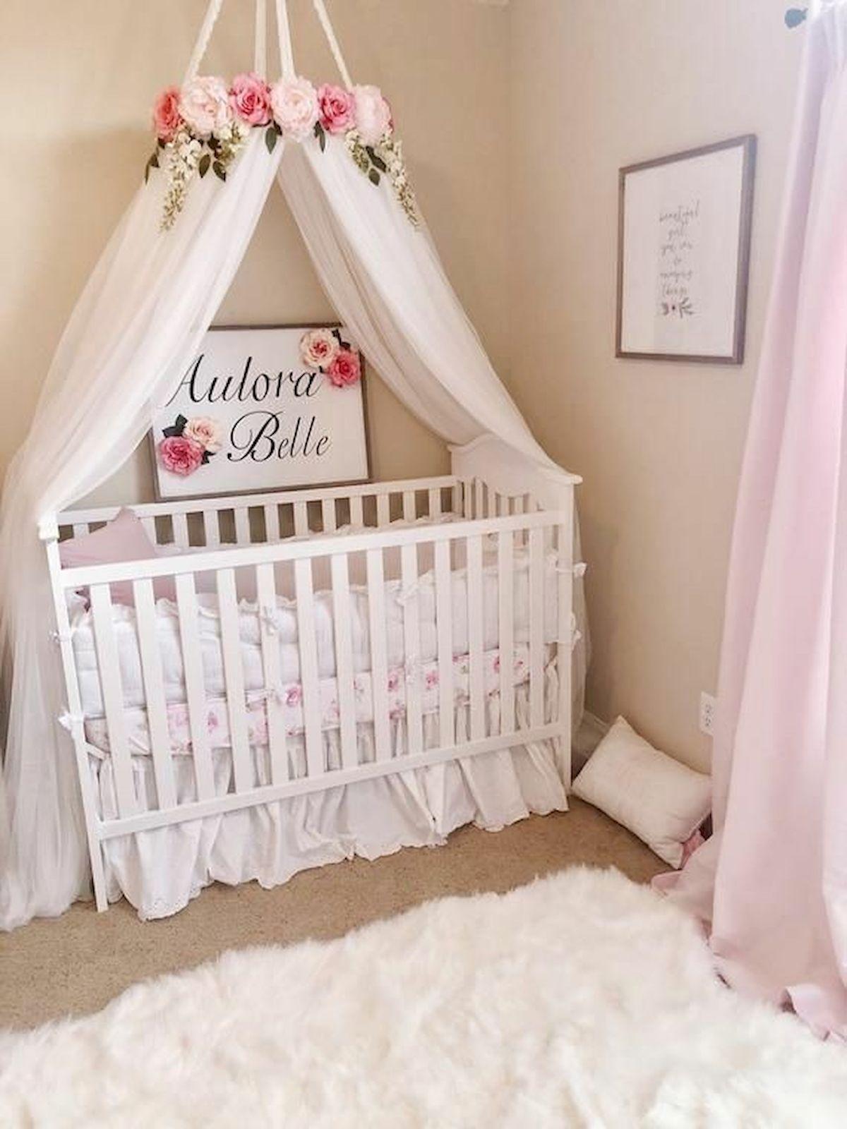 50 Cute Baby Nursery Ideas For Your Little Princes Baby Girl Nursery Room Girl Nursery Room Baby Girl Room