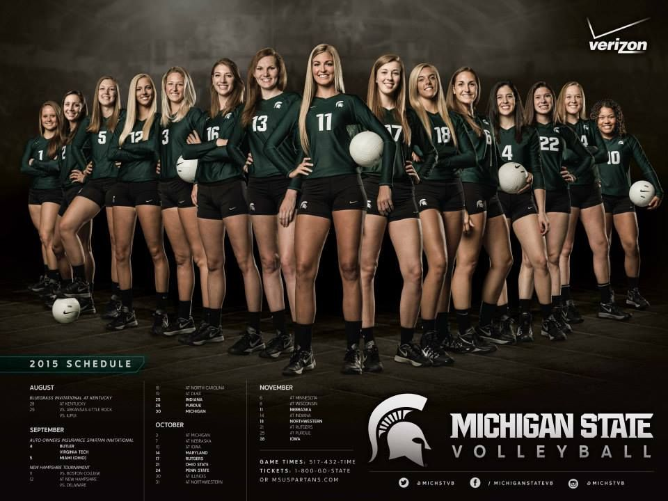 Posterswag Com Top 30 Ncaa Volleyball Schedule Posters Smsports Sportsbiz Volleyball Team Photos Volleyball Senior Pictures Volleyball Team Pictures