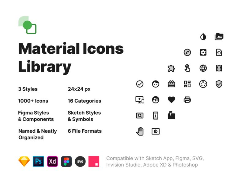 Material Icons Library Icon Sketch App Address Card