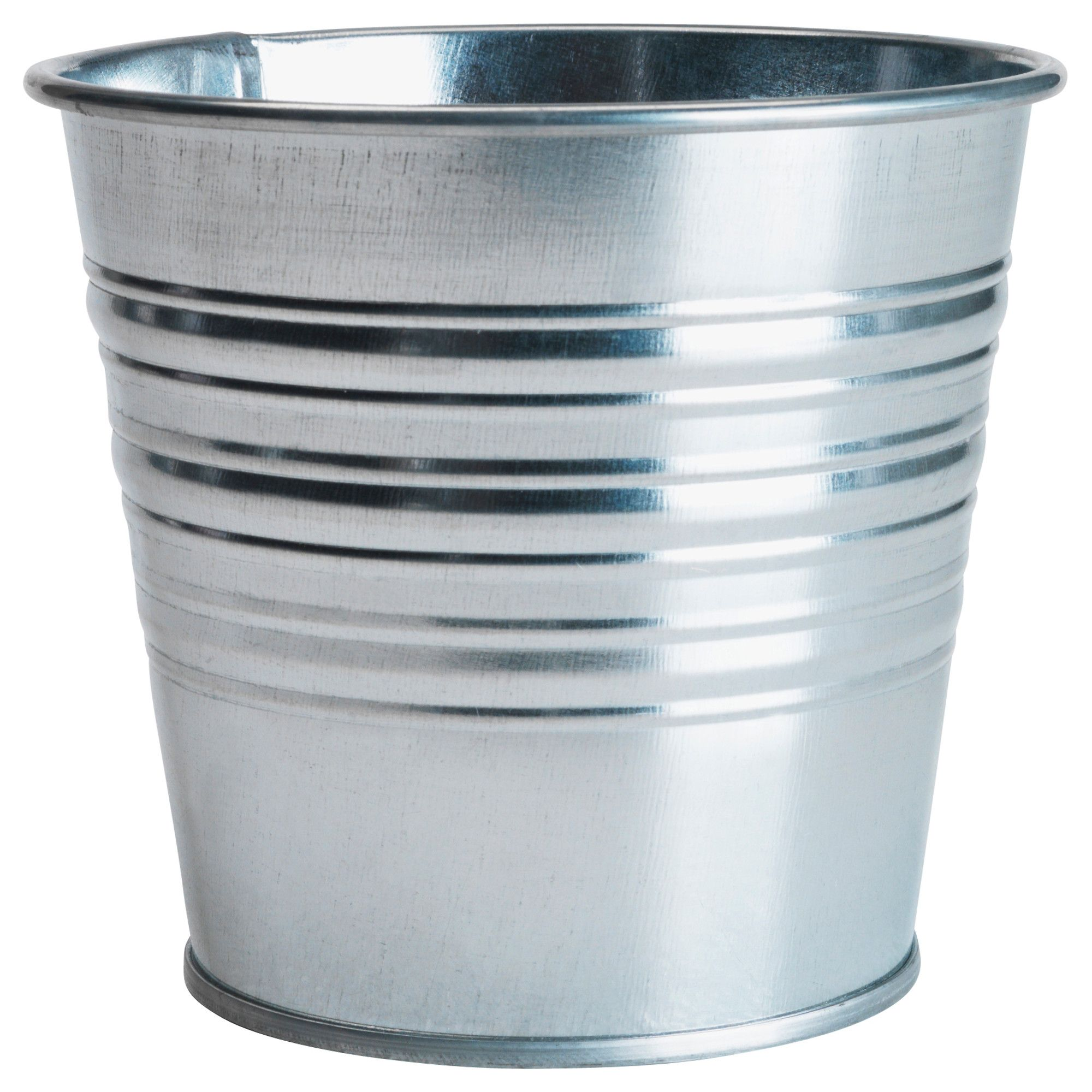 Ikea Indoor Garden: SOCKER Plant Pot, Galvanized Indoor/outdoor, Galvanized