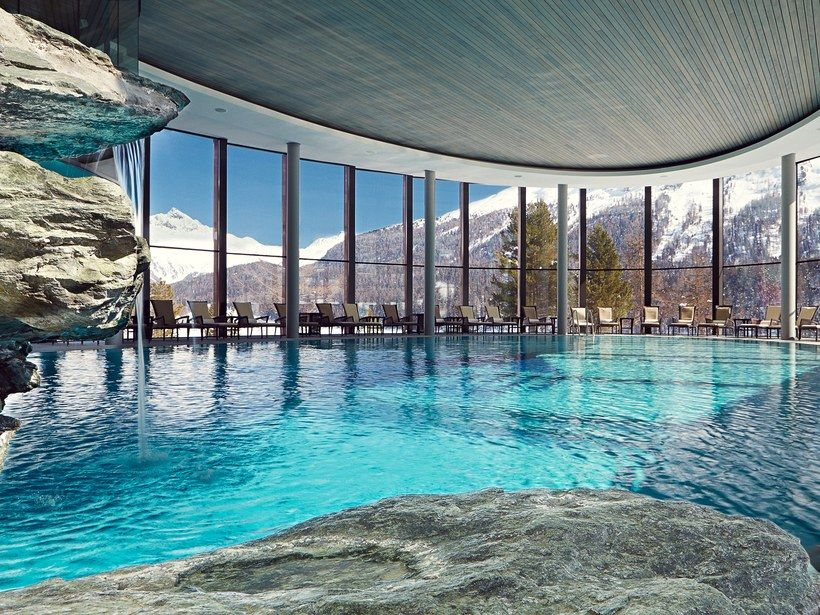 Best Hotel In Switzerland With Infinity Pool 10 Best Hotels In Switzerland Switzerland Hotels Hotels And Resorts Tranquil Spa