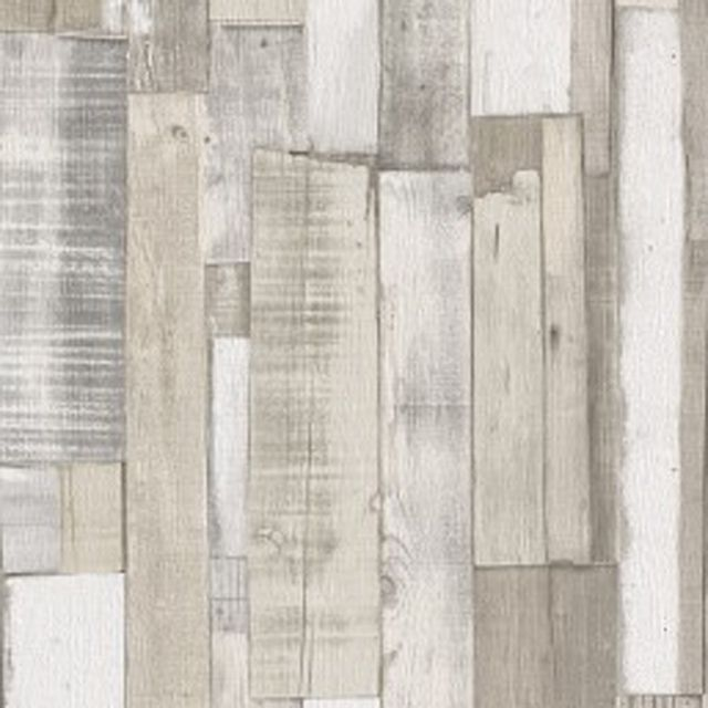 Papier Peint Effet Planches De Bois Blanc Gris Castorama Papier Peint Texture Papier Peint Plancher Bois