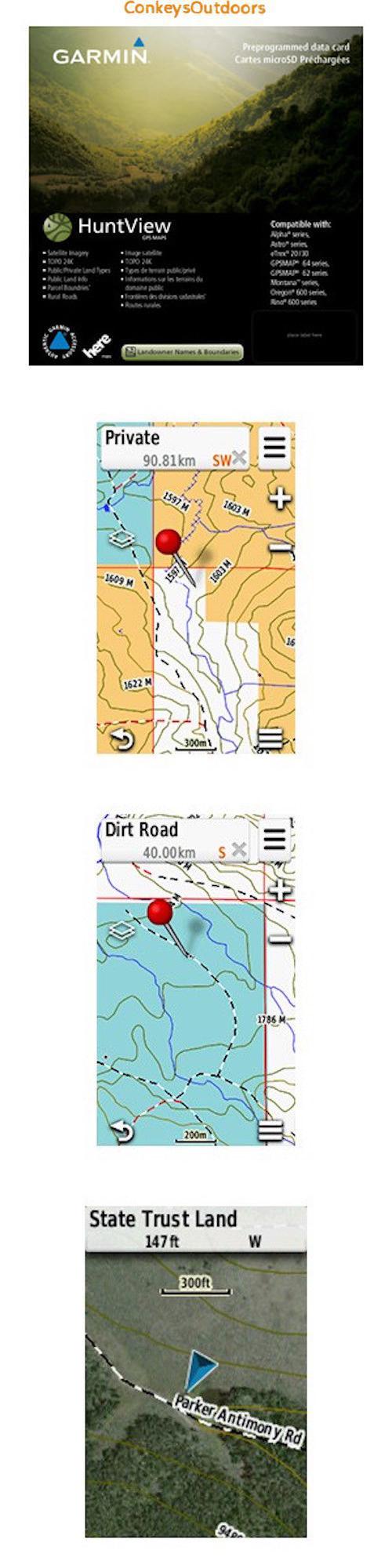 GPS Software And Maps Garmin Pennsylvania Hunt View State - Buy Us Topo24k Garmin Maps