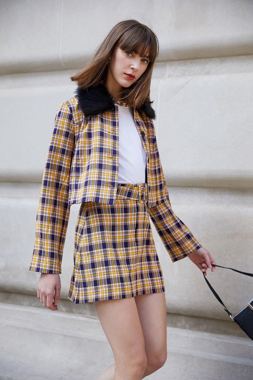 Capulet Lanora Mini Skirt Dixon Plaid | Mini skirts