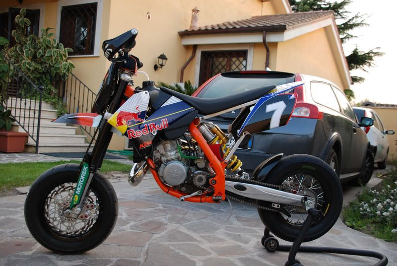ktm 85 minimotard with 125sx engine motor pit bike. Black Bedroom Furniture Sets. Home Design Ideas