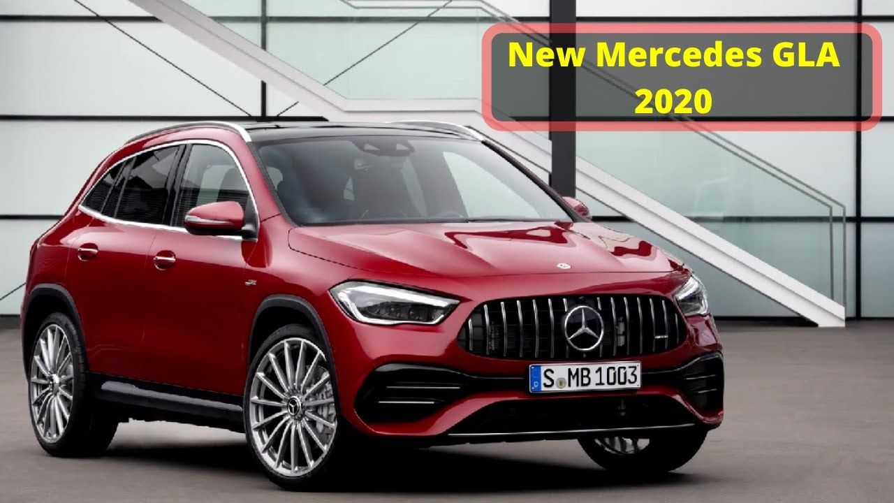 2020 New Mercedes Gla Interior Exterior And Safety Features