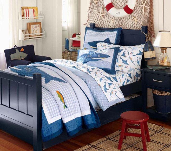 Dormitorio juvenil marinero forja hispalense deco for Deco dormitorios infantiles