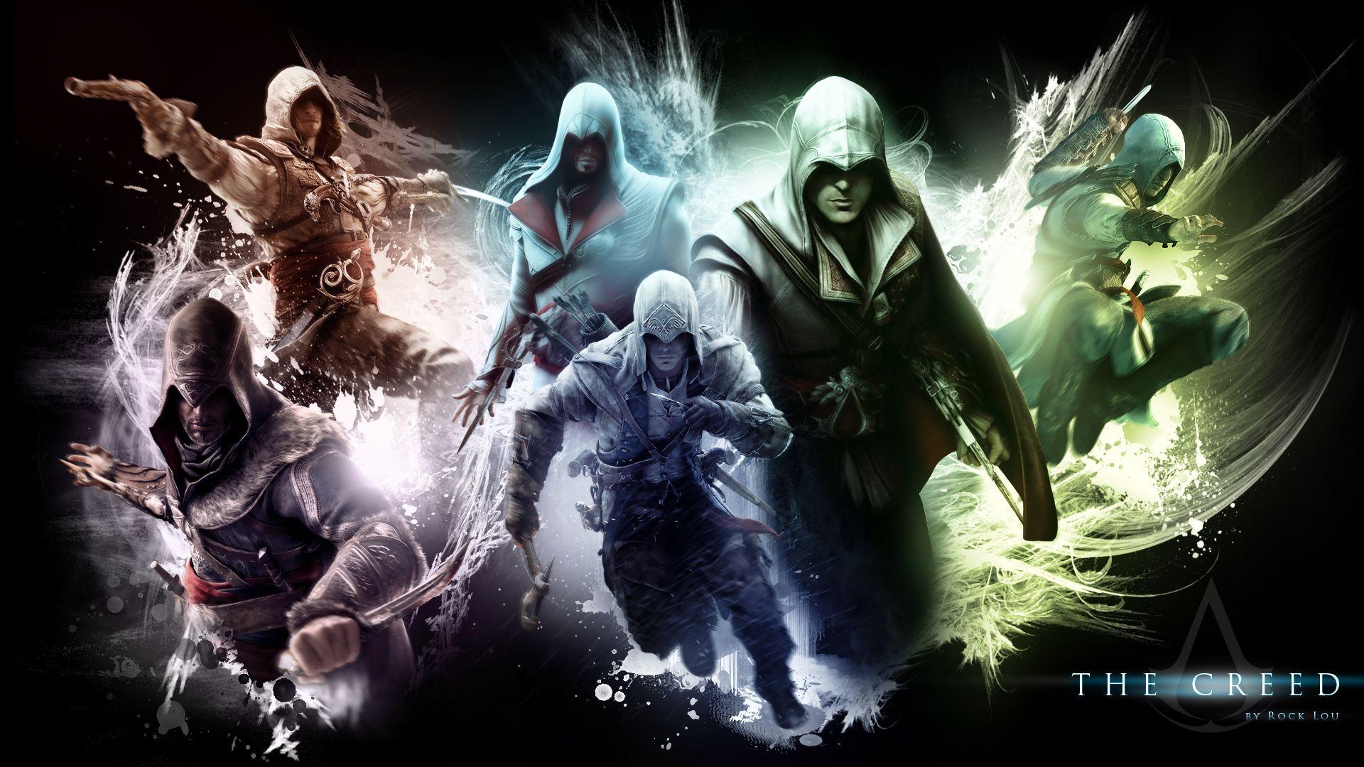 all assassin's creed crests Assassins Creed Wallpaper