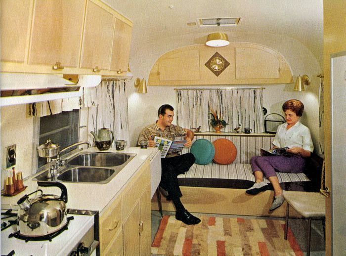 1964 Avion Camper Brochure Camper Interior Retro Campers Camper