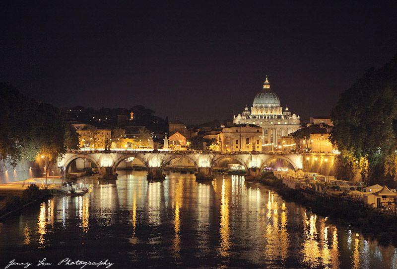 Rome at Night  Jenny Sun Photography Blog