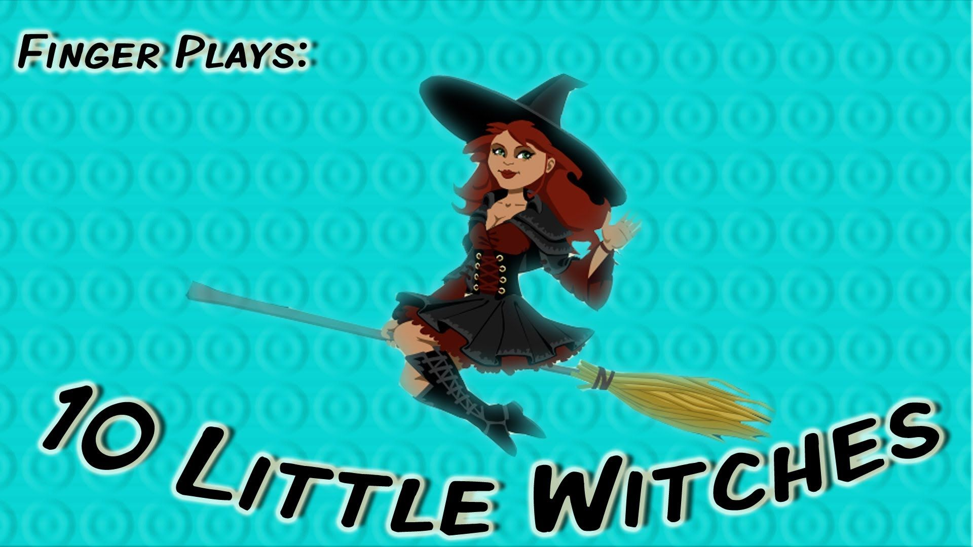 10 little witches | halloween counting song for children | seasonal