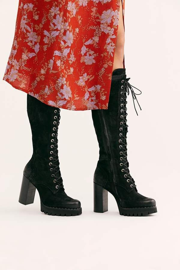 Catalina Platform Tall Boot | Products in 2019 | Tall boots