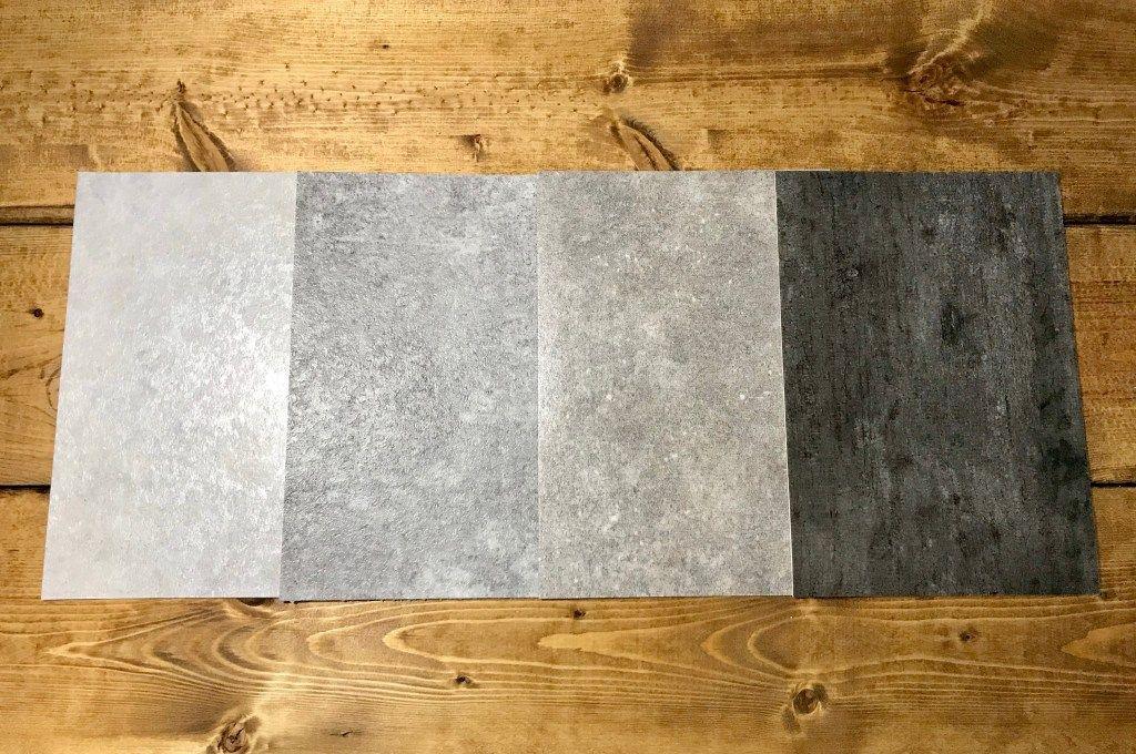 コンクリート調のクッションフロアサンプル サンゲツ クッション