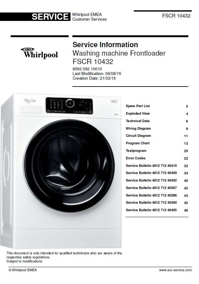 Pin On Whirlpool Washing Machine Service Manuals
