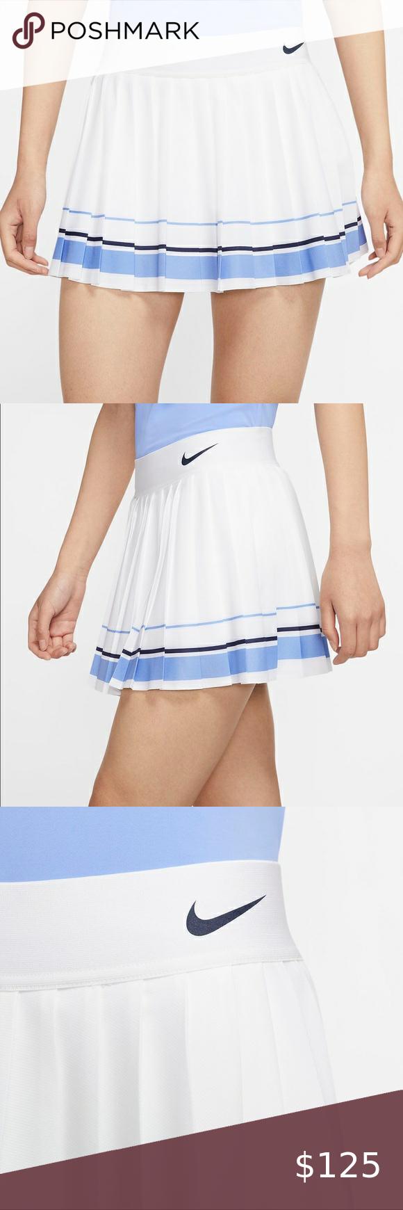 Nike X Maria Sharapova Pleated Tennis Skirt Sz M Nwt Nike X Maria Sharapova Pleated Tennis Skirt Size M In 2020 Pleated Tennis Skirt Tennis Skirt Nike Skirts