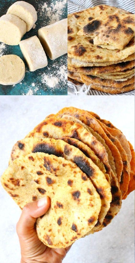 Vegan Potato Flatbread Recipe (No Yeast) • Veggie Society