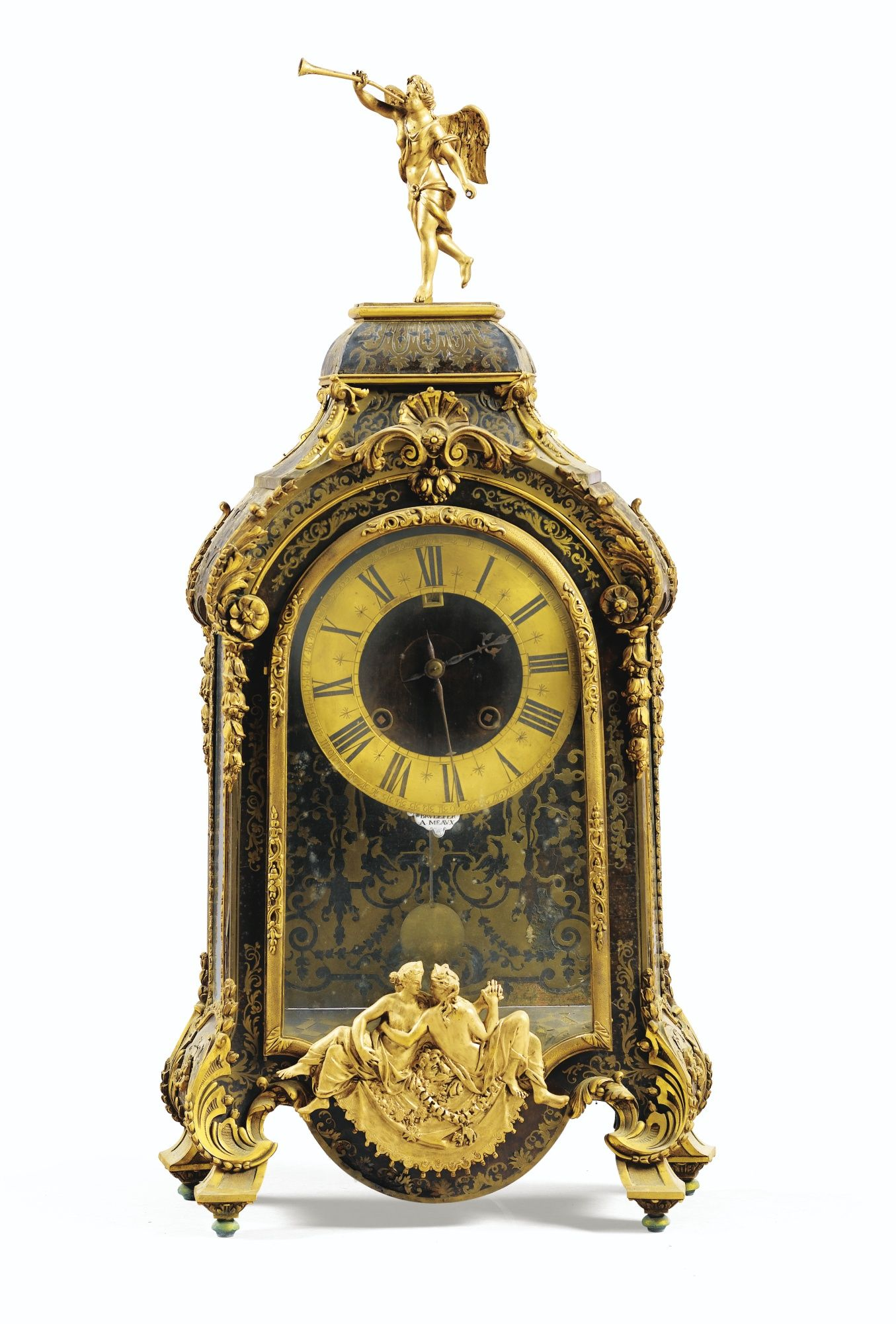 Cool Cuckoo Clocks A Giltbronze Mounted Boulle Marquetry Cartel Clock