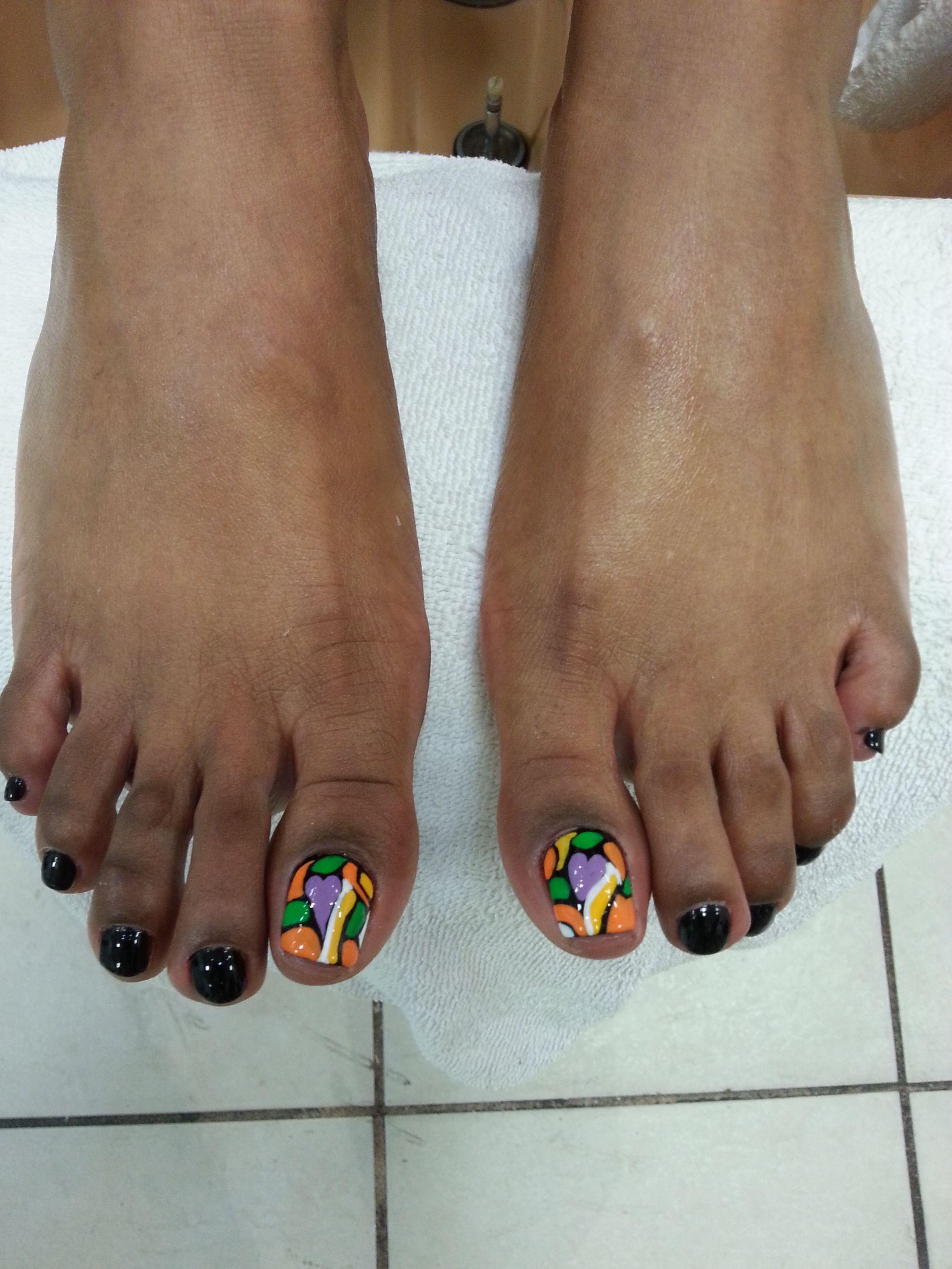 Amazing Pedicure Design At Brilliant Nails Spa Beautiful Nail Naildesign