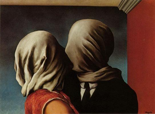 """""""Les amants"""", René Magritte"""