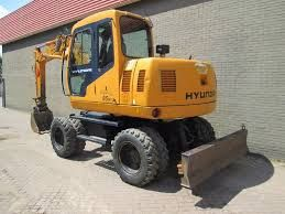 hyundai wheel excavator robex r200w 7 operating manual