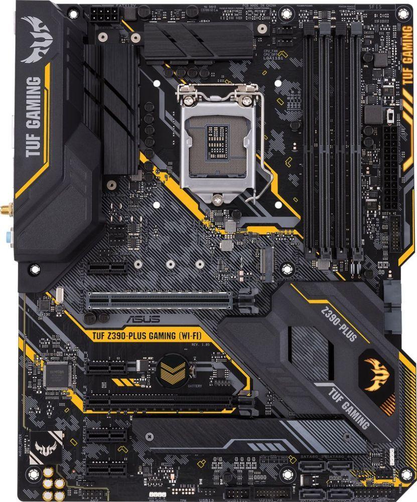 Asus Tuf Z390 Plus Gaming Wi Fi Socket Lga1151 Usb 3 1 Gen 1 Intel Motherboard Tuf Z390 Plus Gaming Wi Fi Motherboard Plus Games Asus