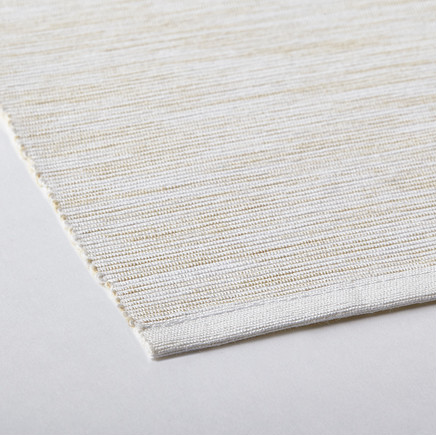 White natural table runner for coffee table - $7 @ Ikea
