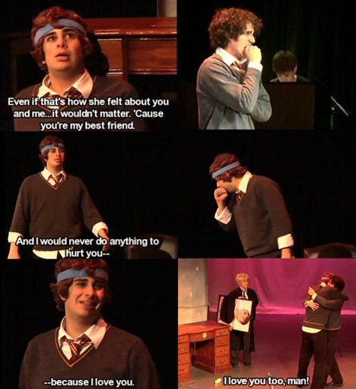 Pin By Beth Enos On Team Starkid Harry Potter Musical Starkid Harry Potter Funny