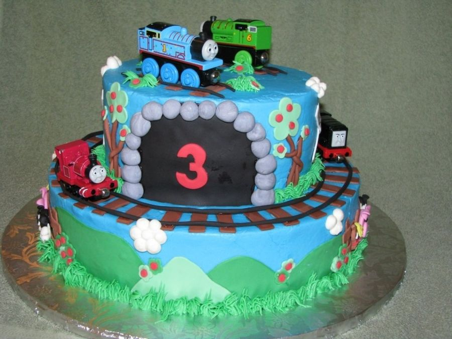 Magnificent Boys Third Birthday Cakes Thomas Google Search With Images Personalised Birthday Cards Beptaeletsinfo