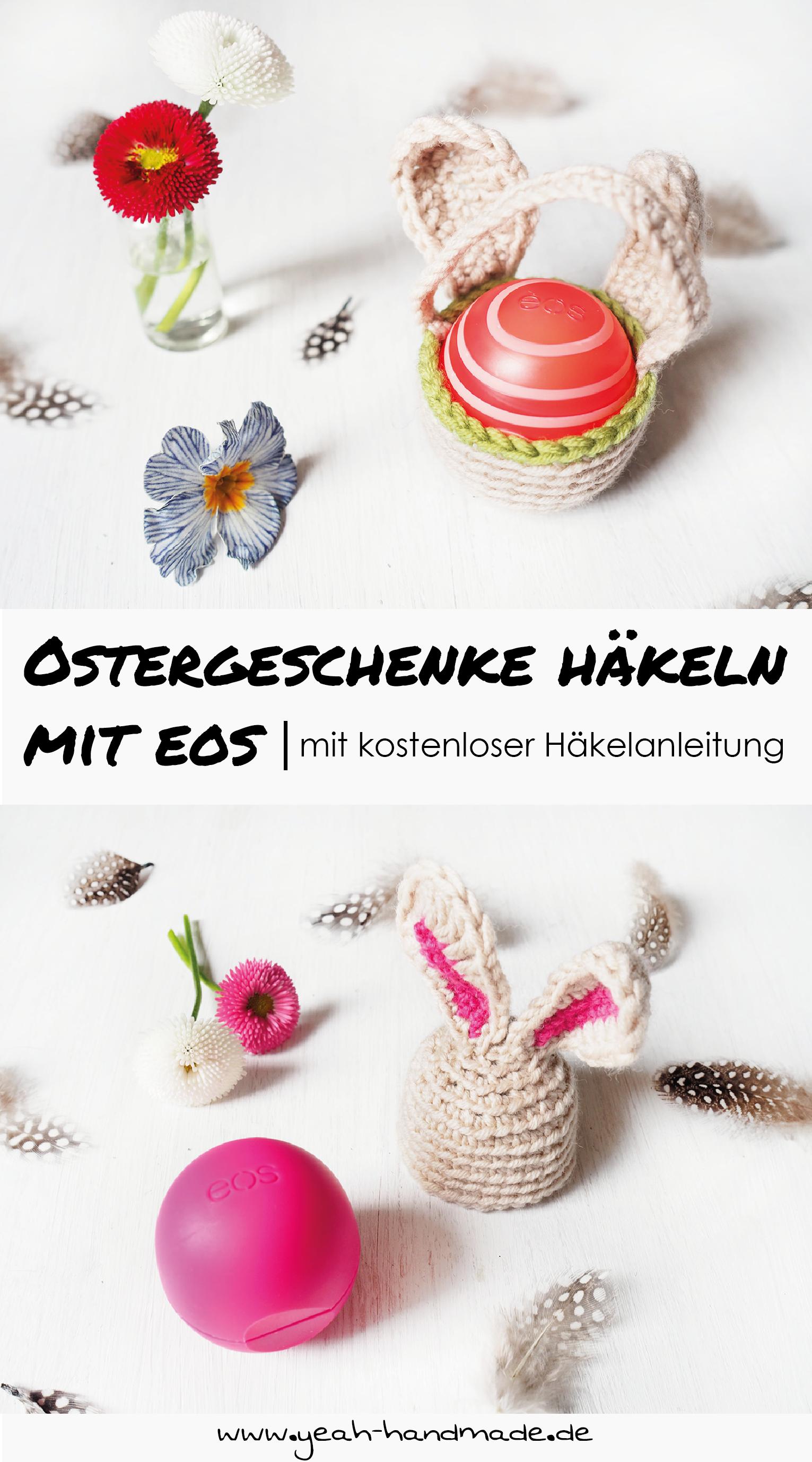 Anzeige Diy Ostergeschenke Häkeln Mit Eos Yeah Handmade Diy