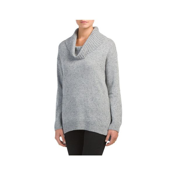 4e2c6ad1d2ee8 Marled Cowl Neck Sweater ( 25) ❤ liked on Polyvore featuring tops ...