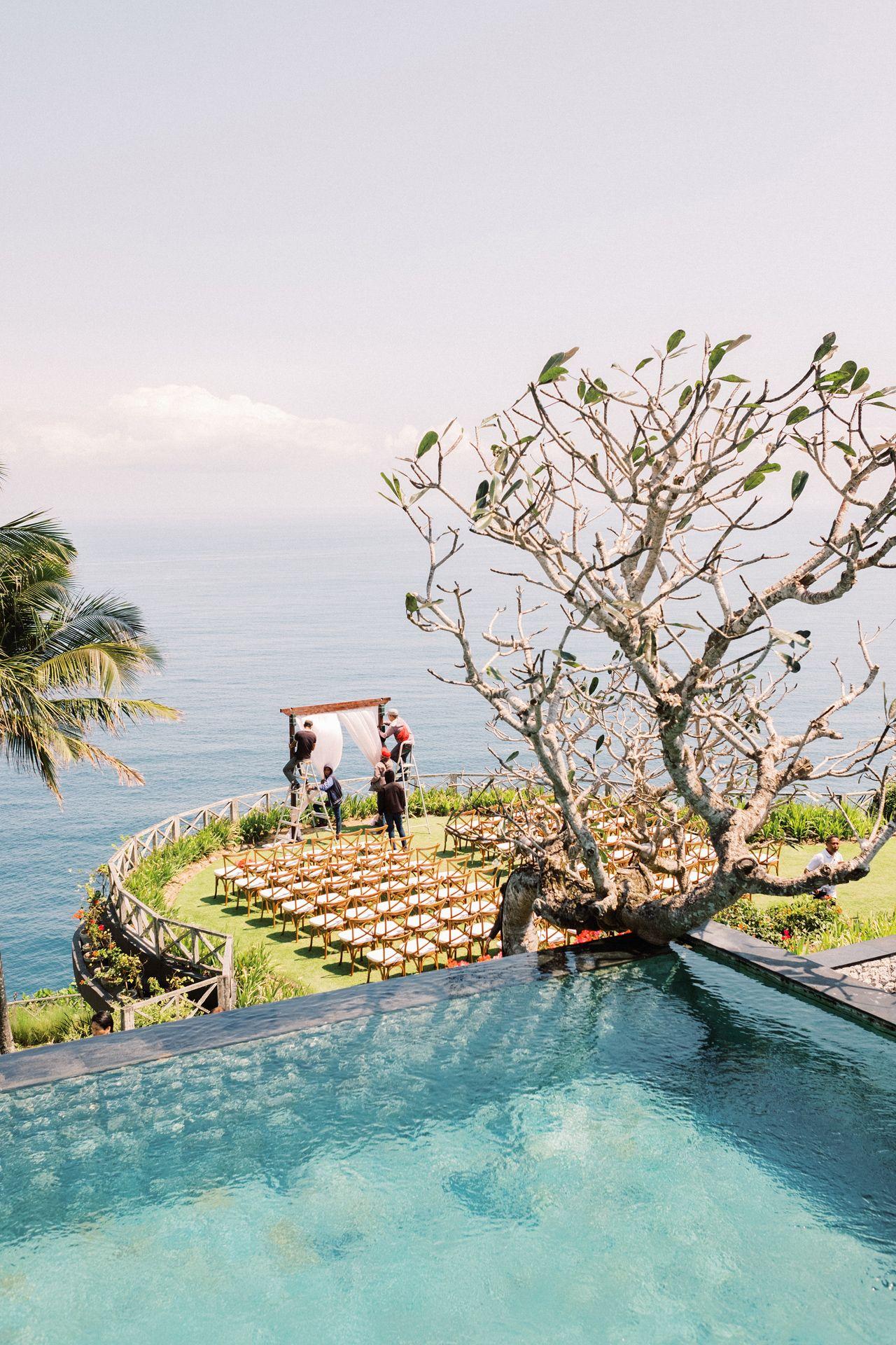 C W Bali Summer Khayangan Estate Wedding 6 In 2020 Bali Wedding Beach Wedding Aisles Estate Wedding