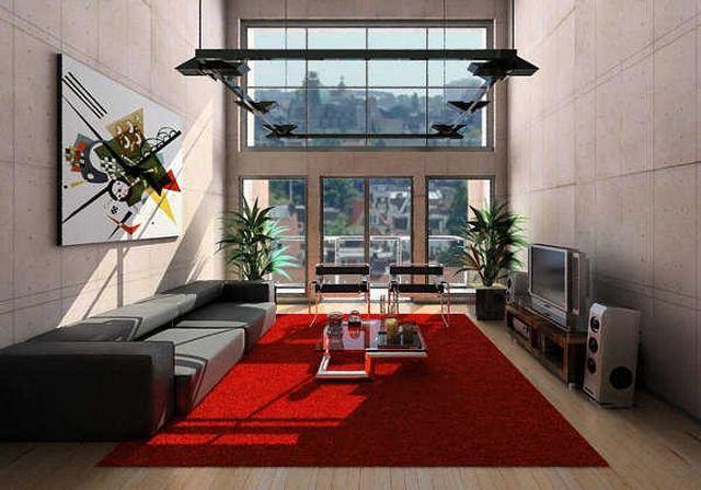 Decoracion con alfombra roja 2 selvamar pinterest for Decoracion piso rojo