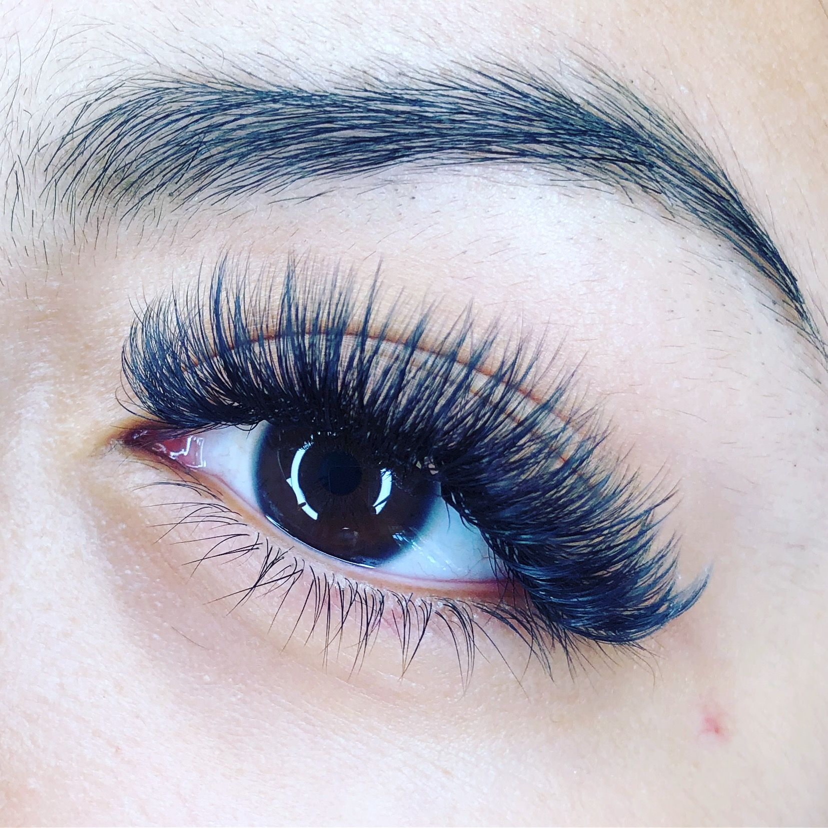 Wispy lashes! Book an appointment today with Maria . We