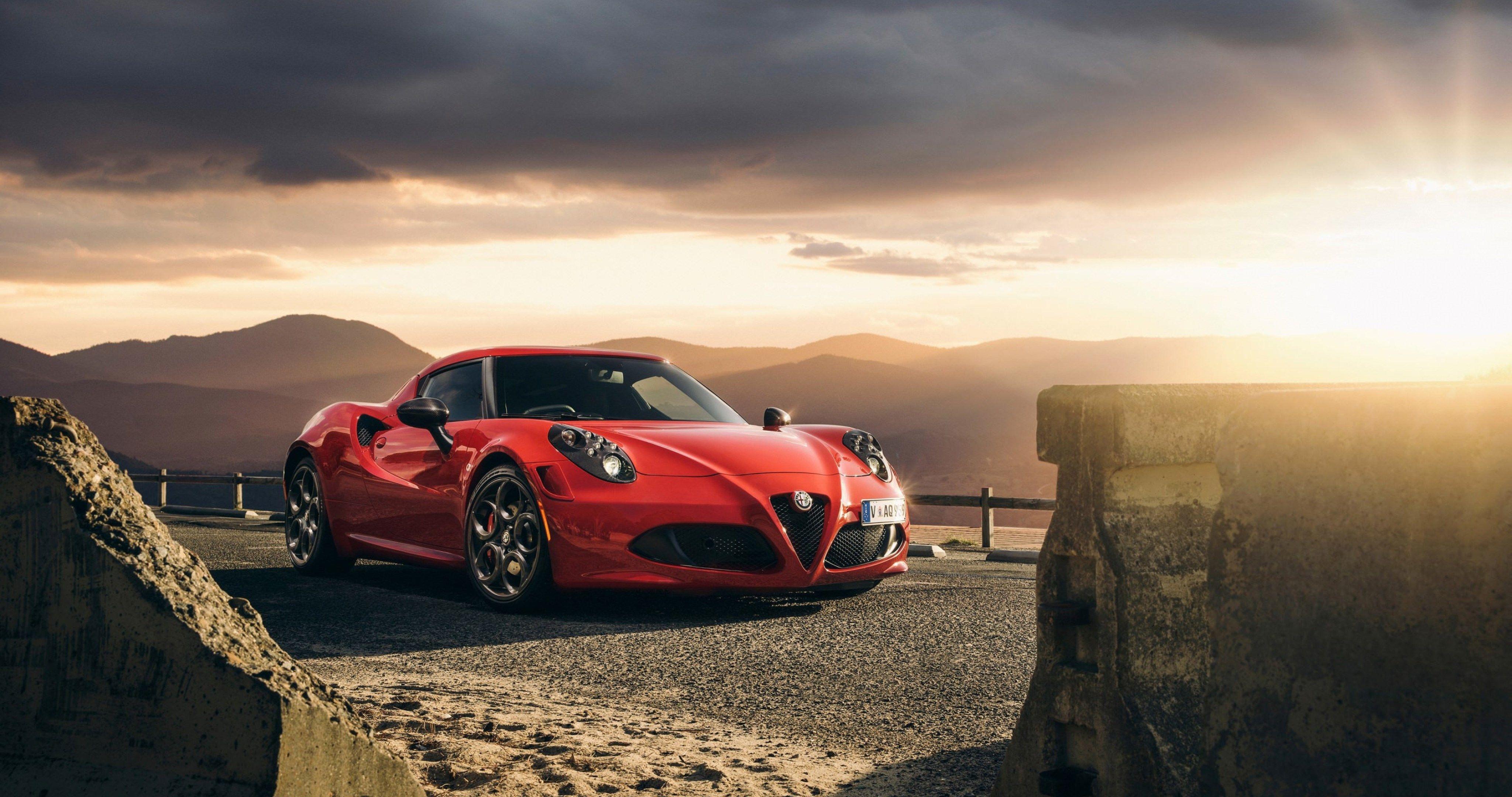 Alfa Romeo 4C Wallpaper – Auto Bild Idee