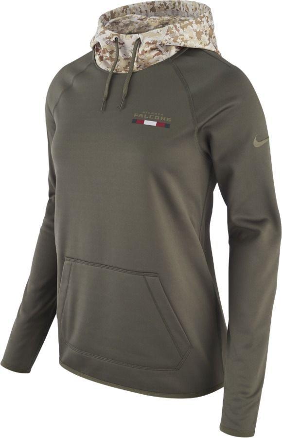 Nike Men's Denver Broncos Salute To Service Therma Hoodie Sweatshirt Large L NFL