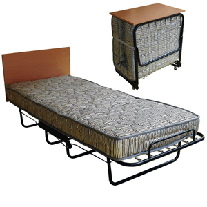 Folding Bed With Spring Mattress 300 Lbs Weight Capacity Cot230