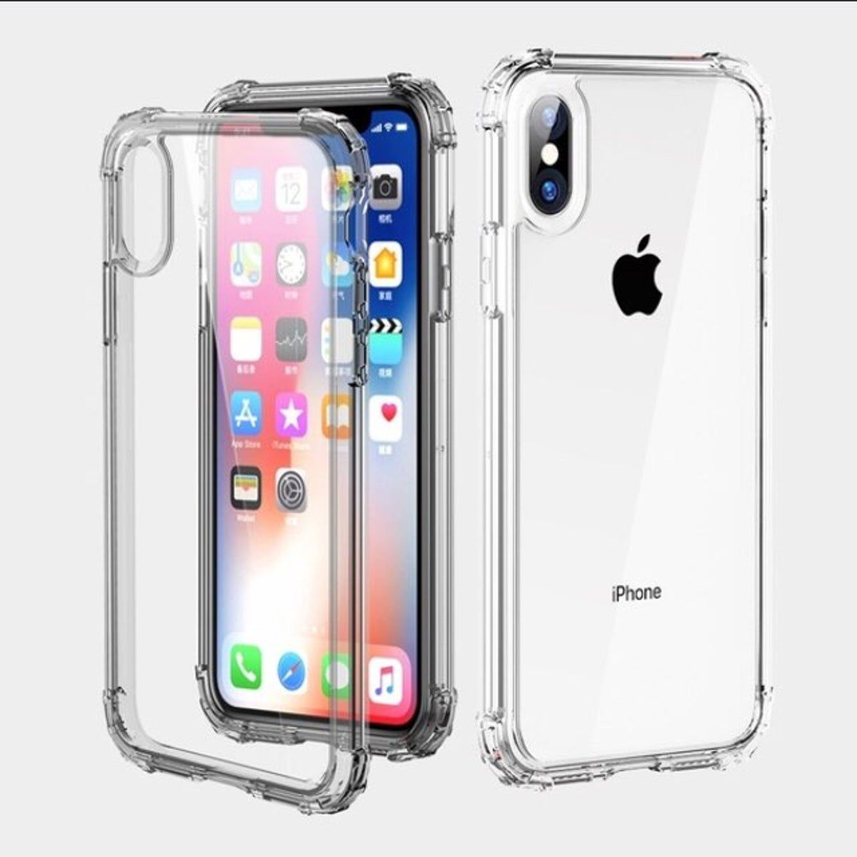 Iphone X Clear Case Clear Iphone Covers Silicone Iphone Cases Iphone Transparent Case