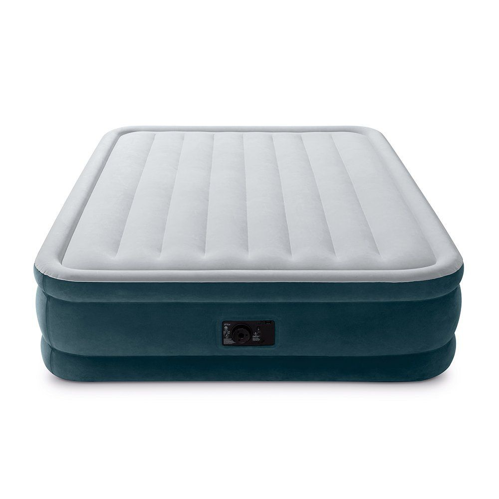 Intex Dura Beam Series Elevated Comfort Airbed With Built In