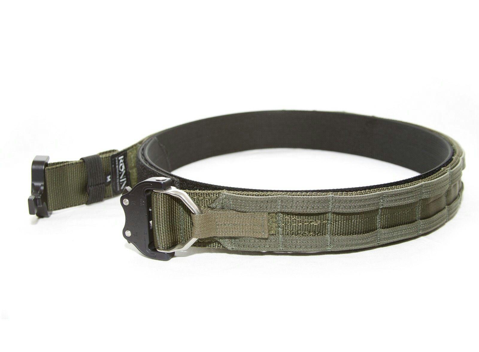 Ronin Warrior's belt  Inner velcro belt  Outer belt with