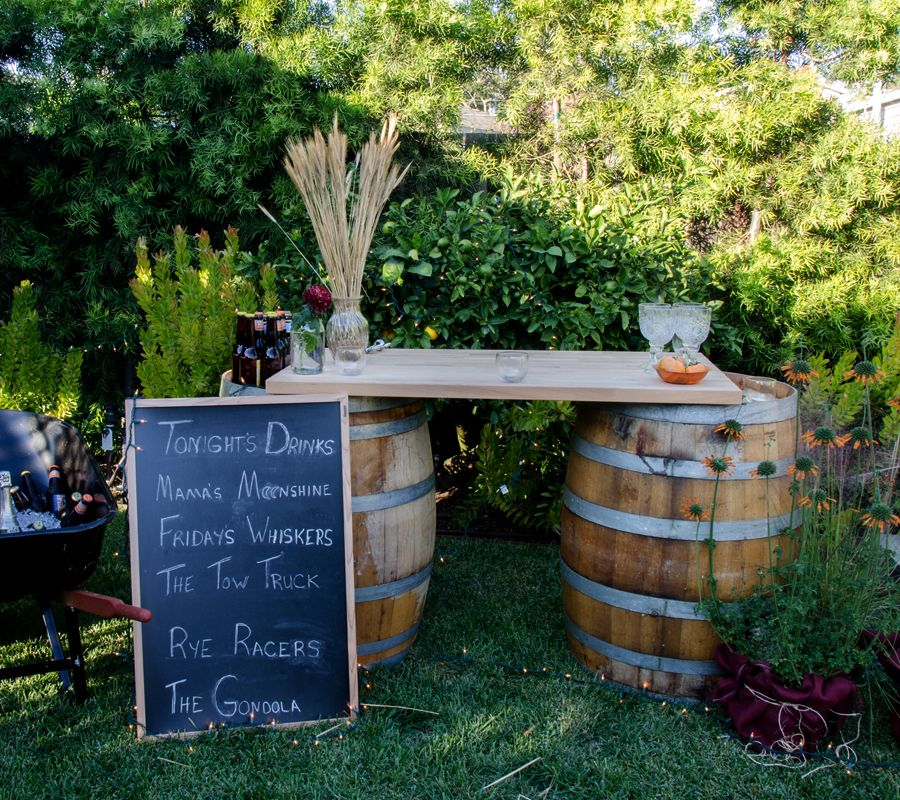 Backyard Party Zone Diy Outdoor Party Outdoor Parties Backyard Bar