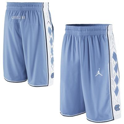 NWT Nike Air Jordan UNC North Carolina Tarheels Athletic Shorts Size S