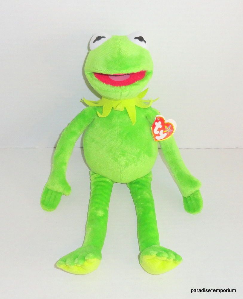 e528d105f72 New TY Beanie Buddy Kermit the Frog Plush Muppets Buddies  Muppets  toys   disney