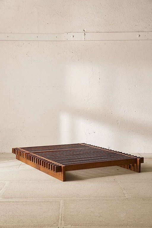Best 20 Simple Wooden Platform Bed Designs For Bohemian 400 x 300