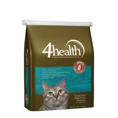 4health Grain Free Indoor Cat Formula For Adult Cats 4 Lb