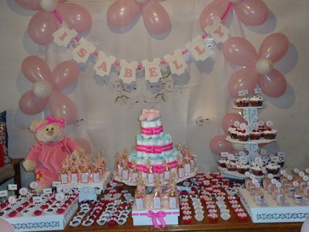 Baby shower decoraciones con globos - Baby shower decoracion ...