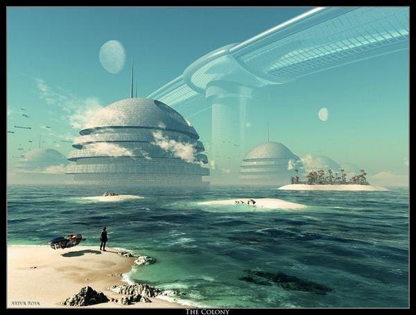 Fantasy-World: The Colony